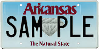 Arkansas License Plate Lookup