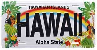 Hawaii License Plate Lookup