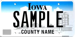 Iowa License Plate Lookup
