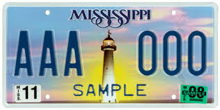 Mississippi License Plate Lookup