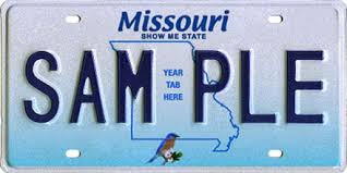 Missouri License Plate Lookup