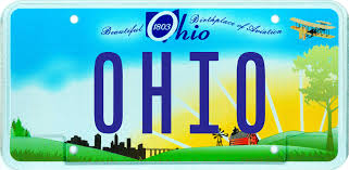 Image result for ohio license plate 2017
