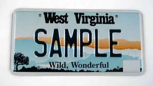 West Virginia License Plate Lookup