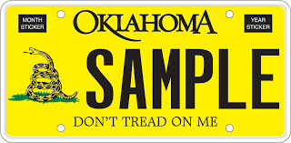 Oklahoma License Plate Lookup
